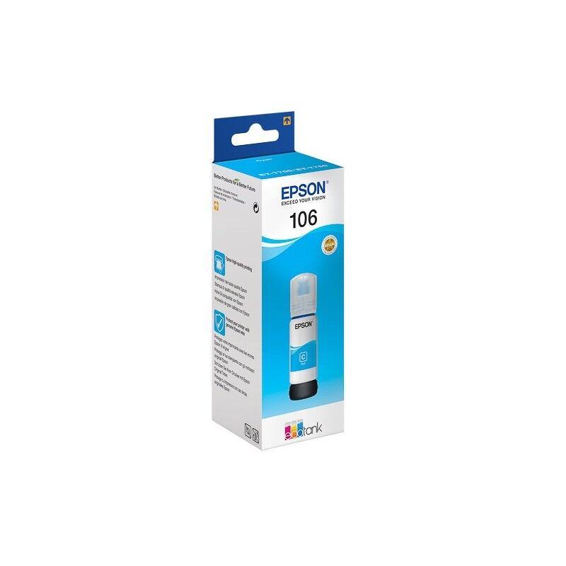 Epson Cartouche Cyan Epson pour EcoTank ET-7700 (N°106)