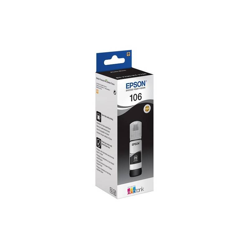 Epson Cartouche Noir Epson pour EcoTank ET-7700 (N°106)