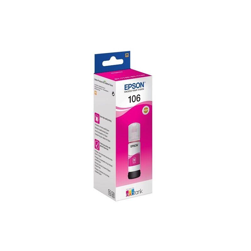Epson Cartouche Magenta Epson pour EcoTank ET-7700 (N°106)