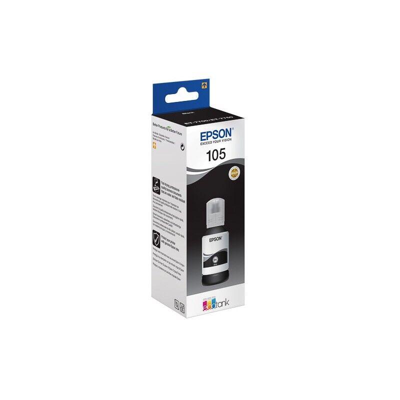 Epson Cartouche Noir Haute Capcité Epson pour EcoTank ET-7700 (N°105)