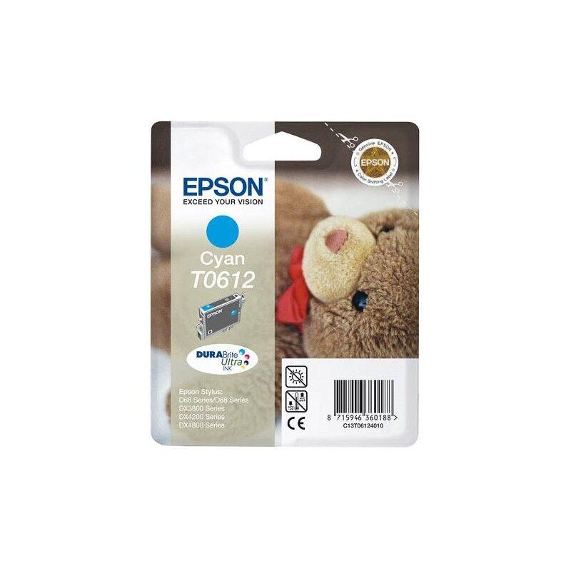 Epson Cartouche d'encre Espon T0612 Cyan