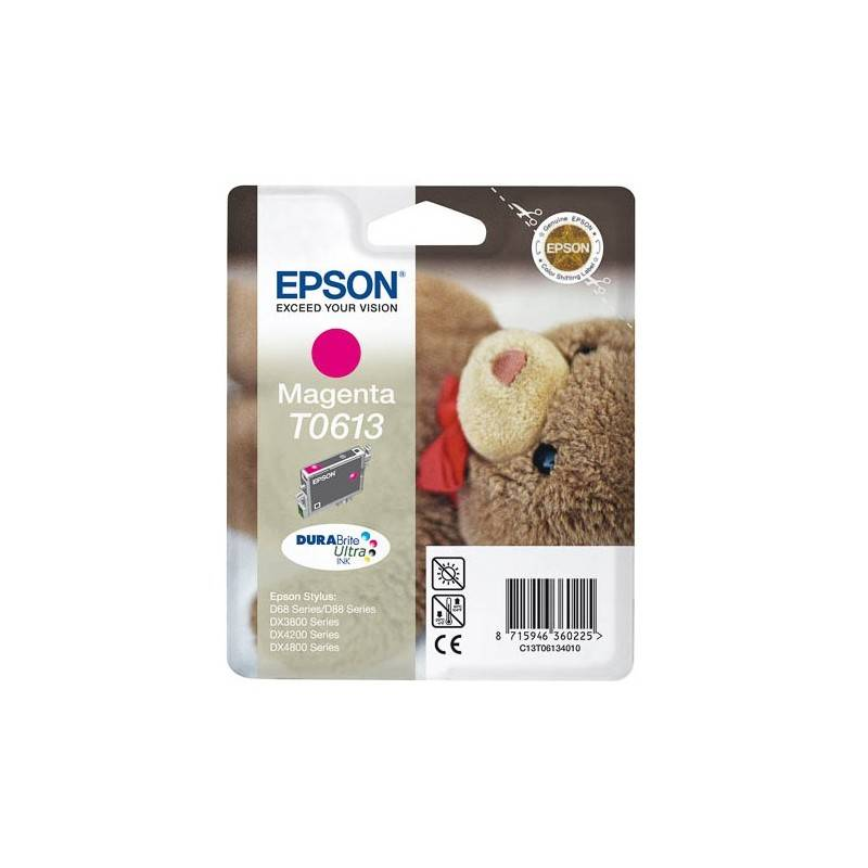 Epson Cartouche d'encre Espon T0613 Magenta