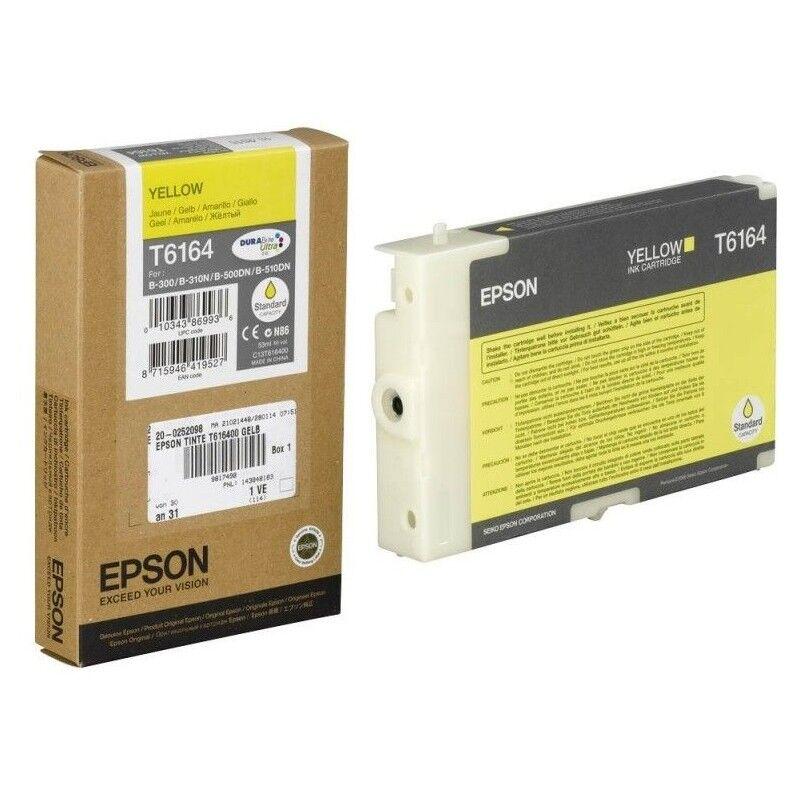 Epson Cartouche d'encre jaune Epson pour MicroPiezo B300 / B500DN (T6164)