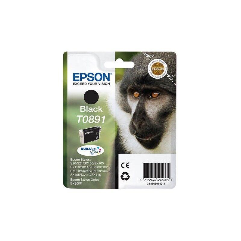 Epson Cartouche Encre EPSON Noire (T0891) S20, SX205, SX400