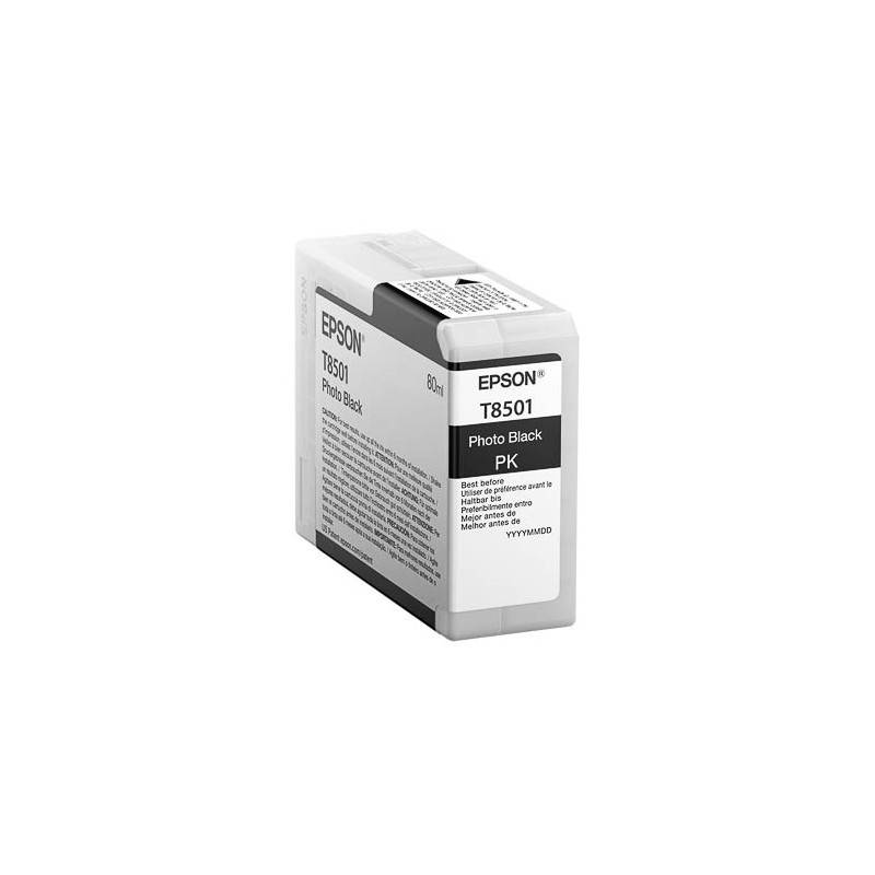 Epson Cartouche d'encre photo Noire pour Epson SC-P800 (T8501)