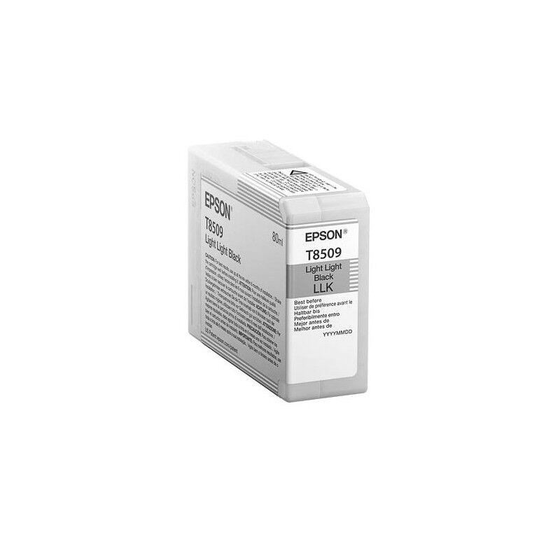 Epson Cartouche d'encre Light Light Noire pour Epson SC-P800 (T8509)