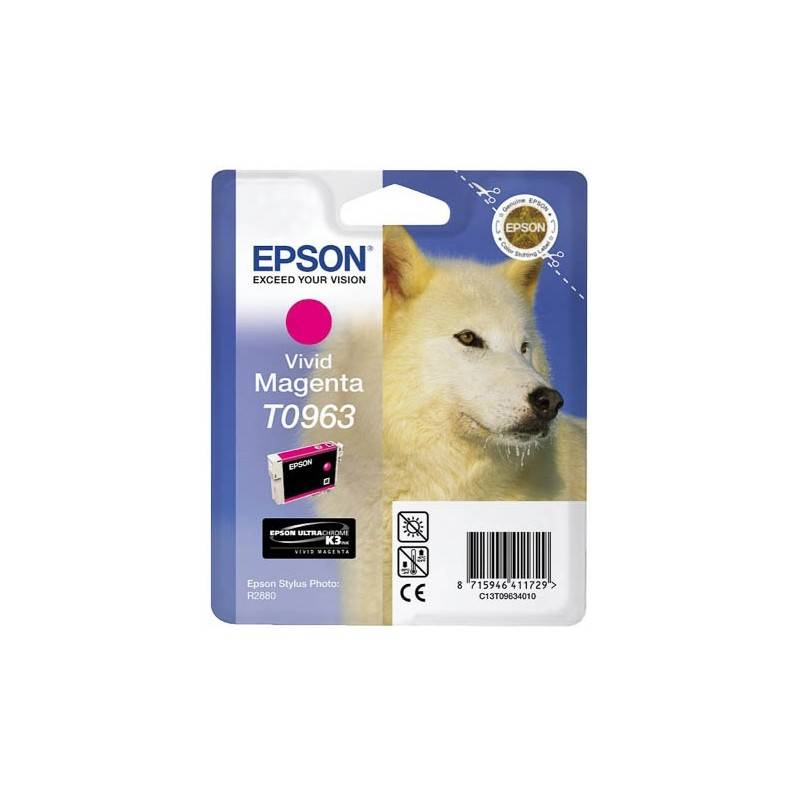 Epson Cartouche Encre EPSON UltraChrome K3 VM Magenta R2880 (T0963)
