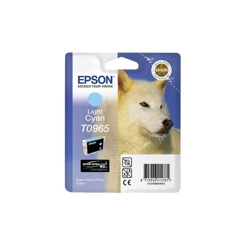 Epson Cartouche Encre EPSON UltraChrome K3 VM Cyan Clair R2880 (T0965)