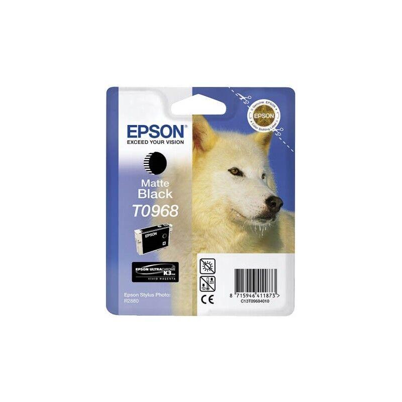 Epson Cartouche Encre EPSON UltraChrome K3 VM Noire Mat R2880 (T0968)
