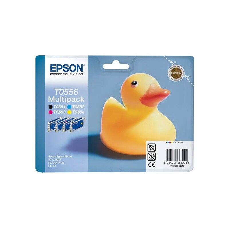 Epson Cartouche d'encre Epson Lot T0551/T0552/T0553/T0554