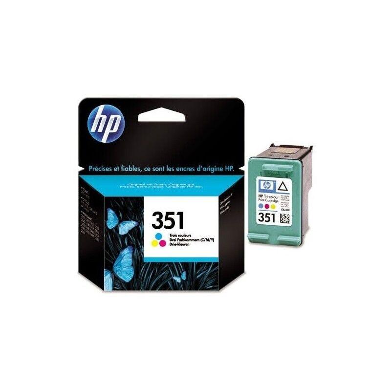 HP Cartouche d'encre couleur HP pour Officejet J5780 (N°351 / N°141)