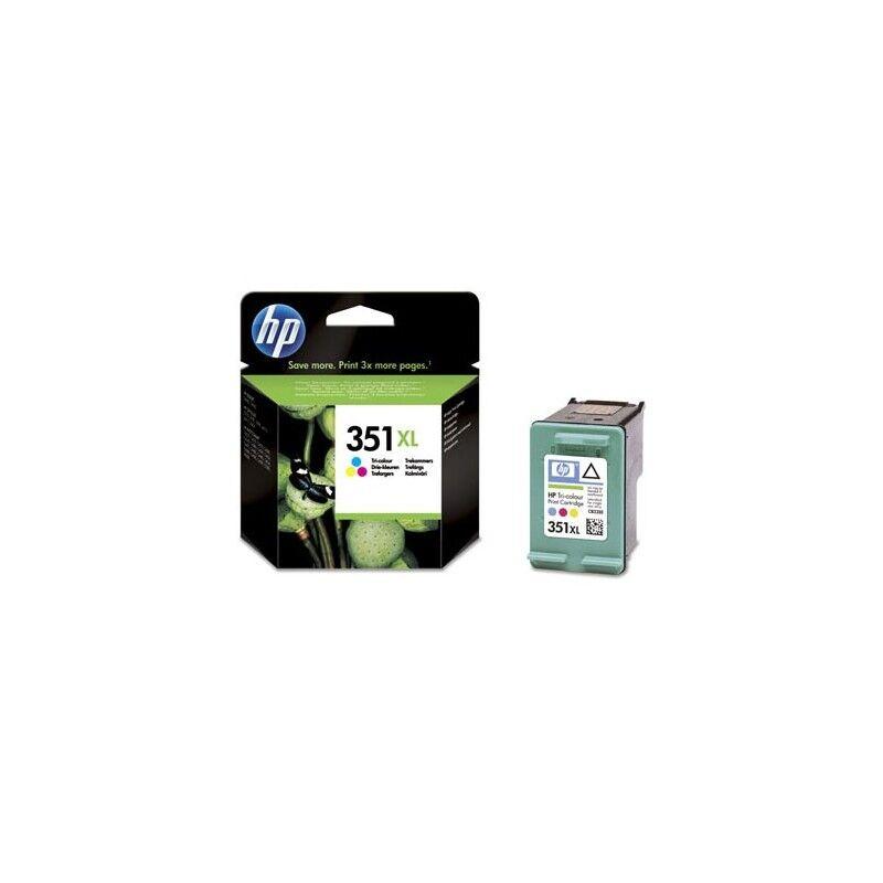 HP Cartouche d'encre couleur XL HP pour Officejet J5780 (N°351XL)