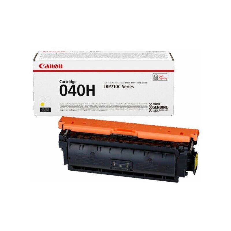 Canon Cartouche Toner Jaune Haute Capacité CANON pour Imprimante Laser (N°040HY) (0455C002)
