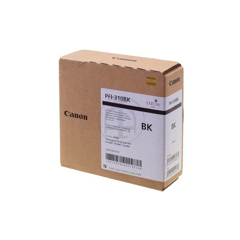 Canon Cartouche d'encre noire Canon pour Image Prograf TX2000, TX3000 ... (PFI310BK)