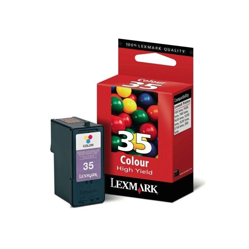 Lexmark Cartouche Lexmark n° 35 Couleur Longue Durée haute résolution