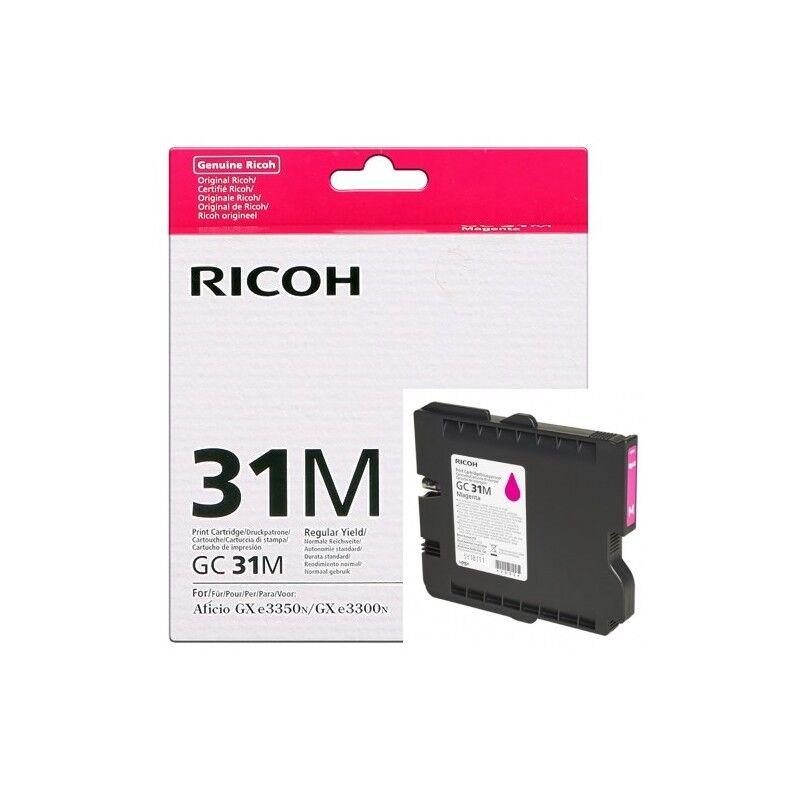 Ricoh Cartouche magenta Ricoh pour Aficio GXe 3300N / 3350N (GC-31M)