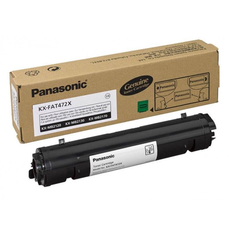 Panasonic Cartouche toner noir Panasonic pour KX MB 2120...(KXFAT472X)