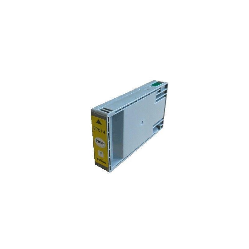 Epson Cartouche d'encre jaune générique pour Epson XXL pour WorkForce Pro WP4000/4500 SERIES