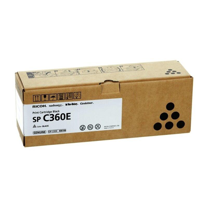 Ricoh Cartouche toner noir Ricoh pour SP C360 (type SPC360E)