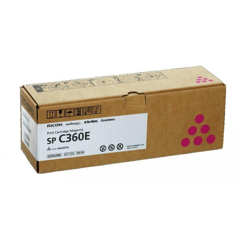 Ricoh Cartouche toner magenta Ricoh pour SP C360 (type SPC360E)