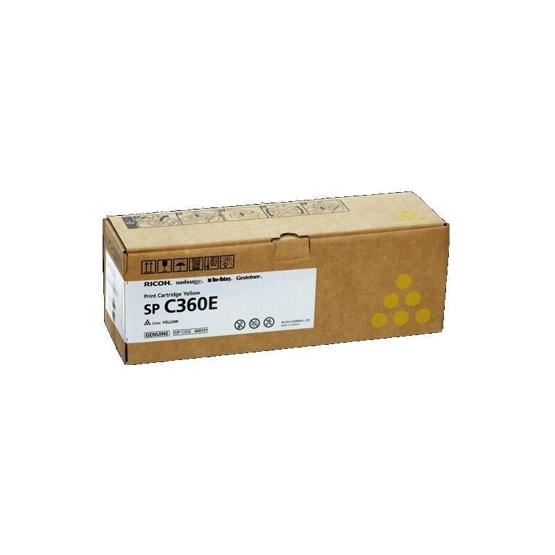 Ricoh Cartouche toner jaune Ricoh pour SP C360 (type SPC360E)