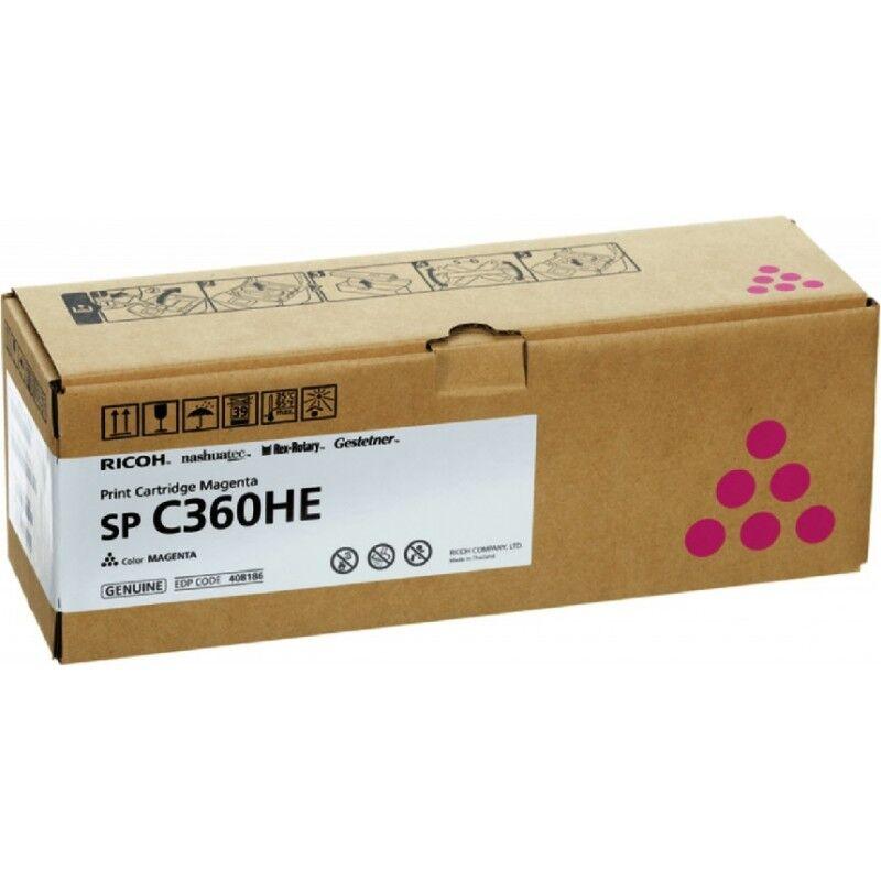 Ricoh Cartouche toner magenta haute capacité Ricoh pour SP C360 (type SPC360HE)