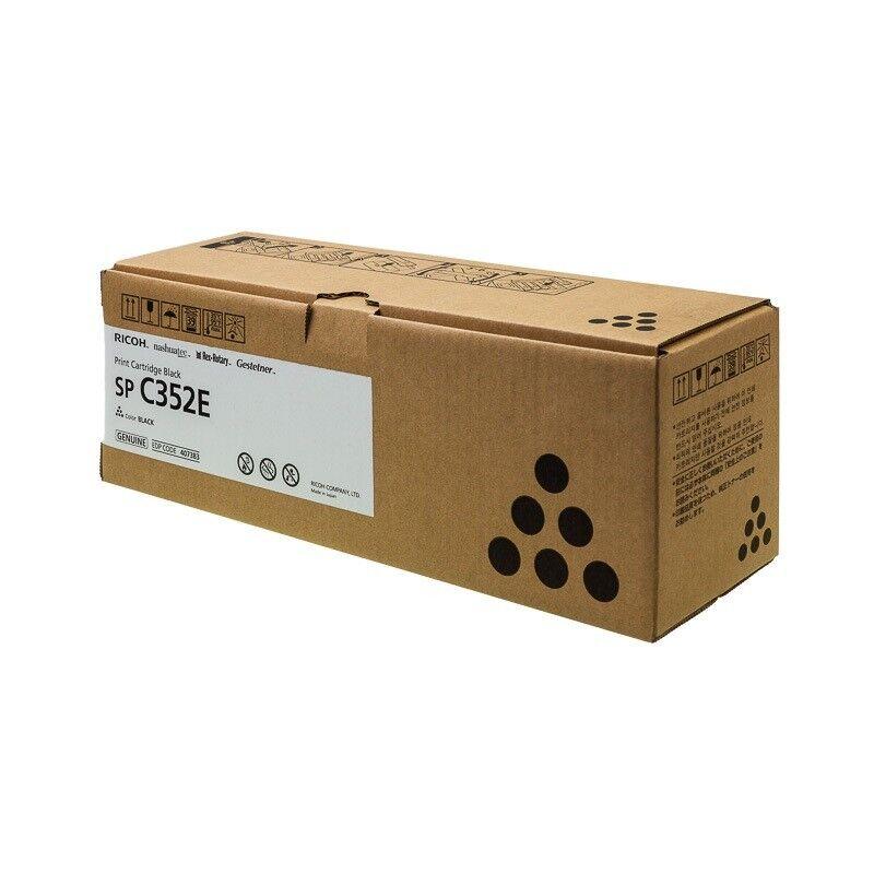 Ricoh Cartouche toner noir Ricoh pour SP C352DN (407383)