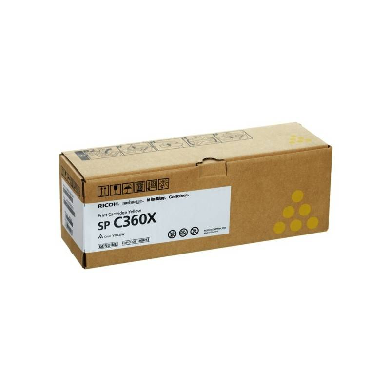 Ricoh Cartouche toner jaune extra haute capacité Ricoh pour SP C361 (type SPC360X)