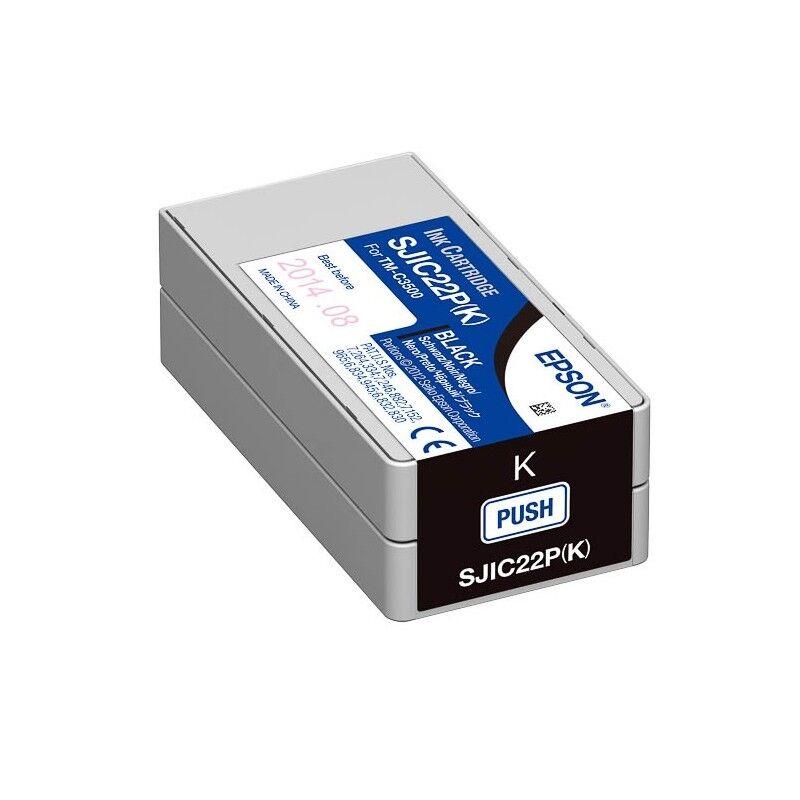 Epson Cartouche noir pour Epson TM-C3500 - ColorWorks C3500 (SJIC22P)