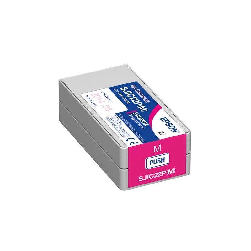 Epson Cartouche Magenta pour Epson TM-C3500 - ColorWorks C3500 (SJIC22P)