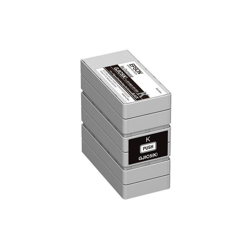 Epson Cartouche noir Epson pour GP-M831 - ColorWorks C831 (GJIC5K)