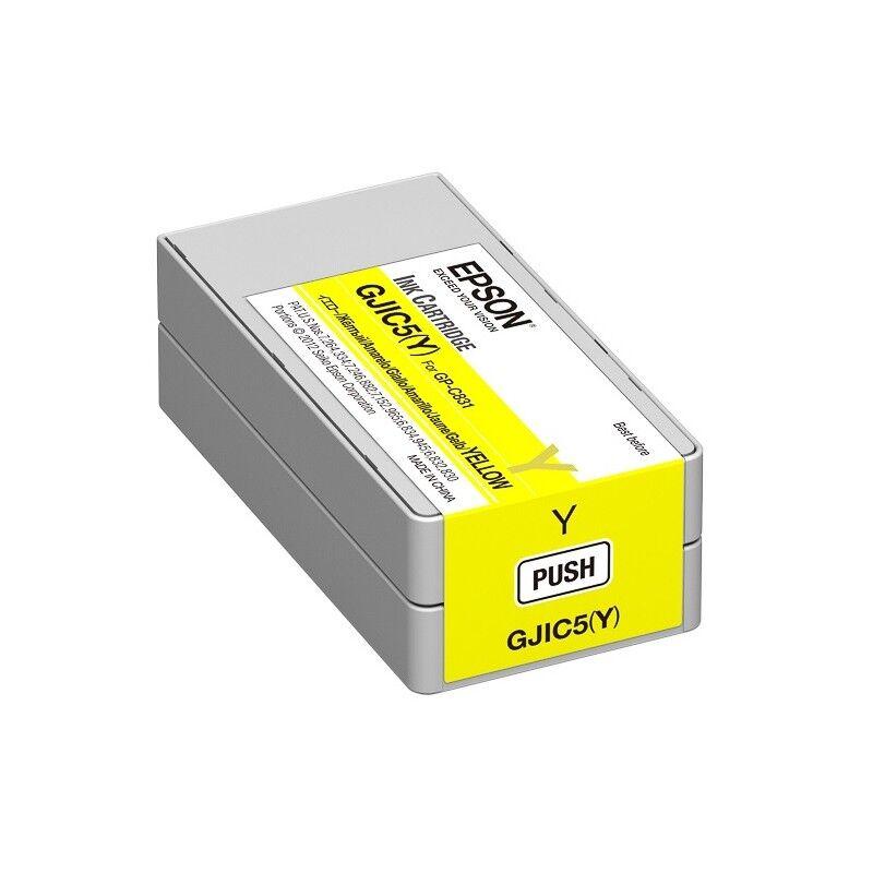 Epson Cartouche d'encre Jaune Epson pour ColorWorks C831 (GJIC5Y)