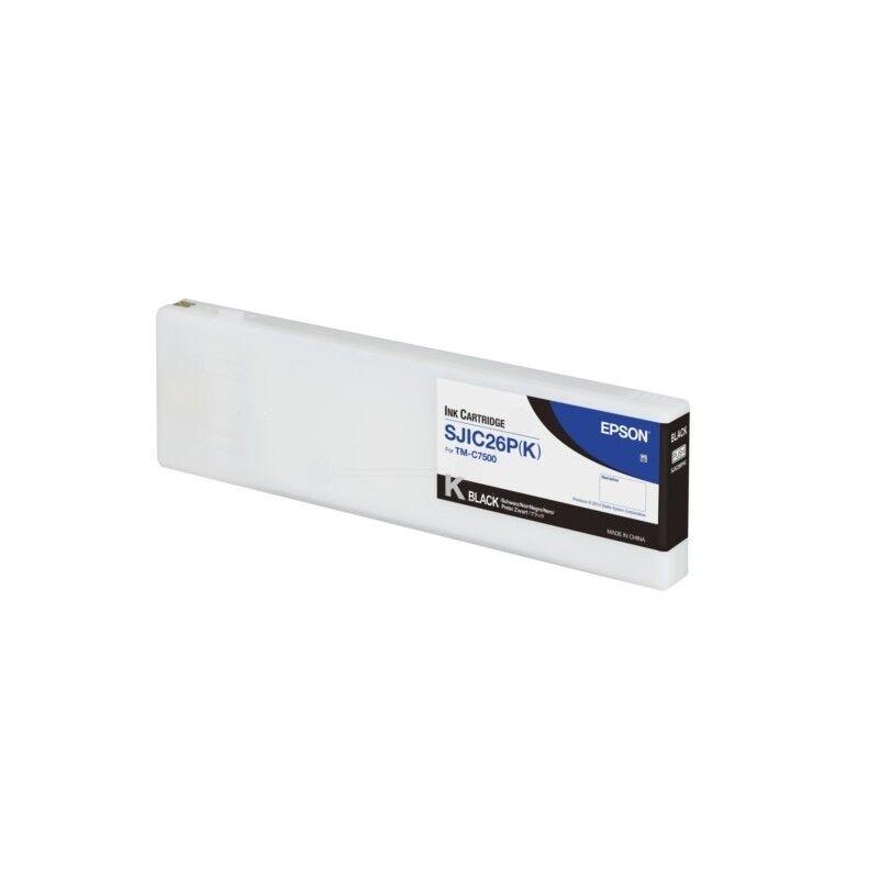 Epson Cartouche d'encre Noire Epson pour ColorWorks C7500 (SJIC26K)