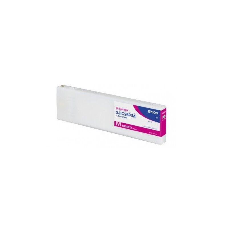 Epson Cartouche d'encre Magenta Epson pour ColorWorks C7500 (SJIC26M)