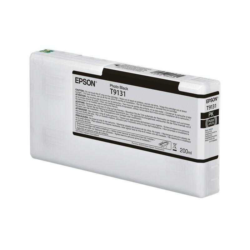 Epson Cartouche d'encre photo Noire pour Epson SC-P5000 (T9131)