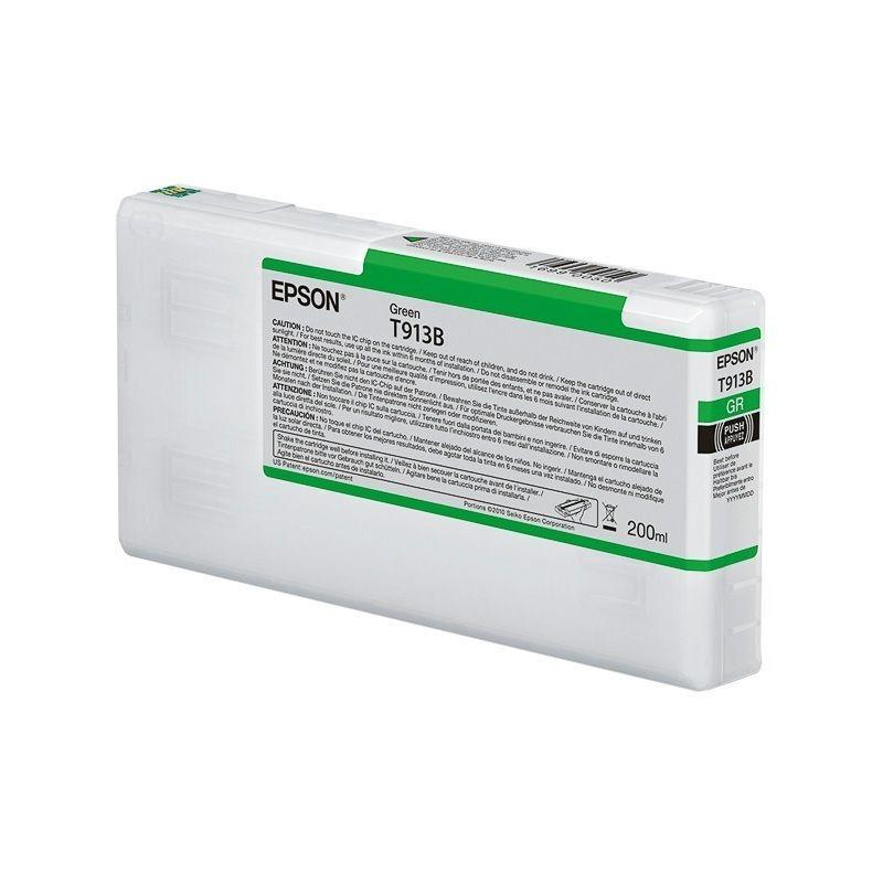 Epson Cartouche d'encre Verte Epson pour SC-P5000 (T913B)