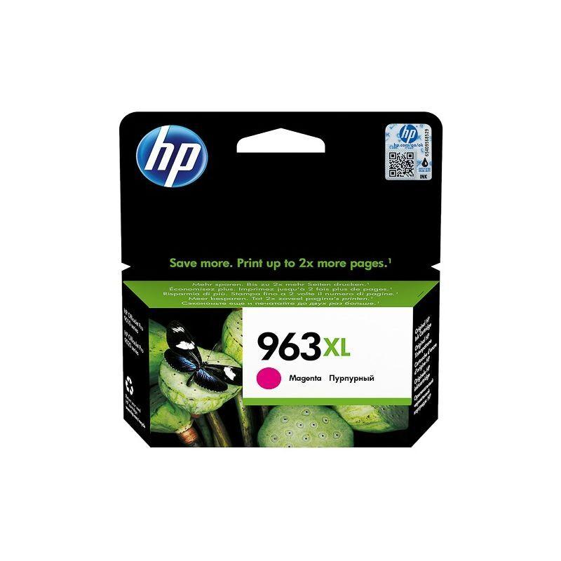 HP Cartouche jet d'encre Magenta Haute capacité HP pour Office Jet Pro 9010 / 9020 ....(N°963XL)