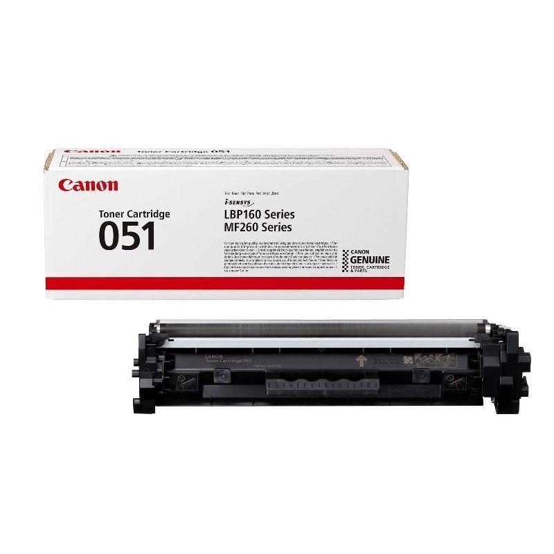 Canon Cartouche toner Noir Canon pour imprimante I-Sensys LBP 162dw... (051)