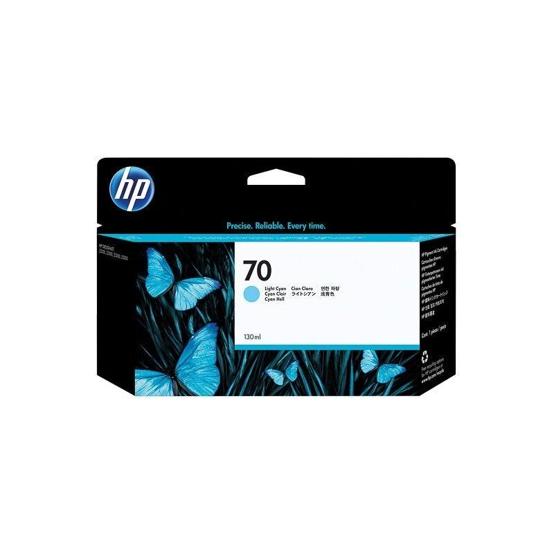 HP Cartouche cyan clair HP pour Designjet Z2100 / Z3100 (N°70)