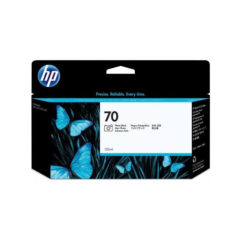HP Cartouche noir photo HP pour Designjet Z2100 / Z3100 (N°70)