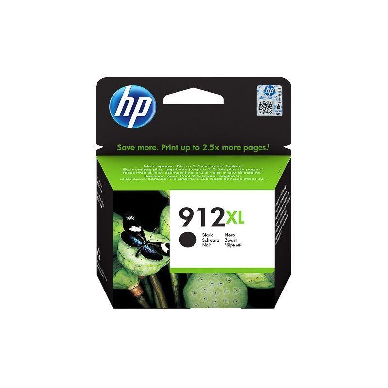 HP Cartouche jet d'encre Noir haute capacité HP pour Office Jet Pro 8012 / 8022 ....(N°912XL)