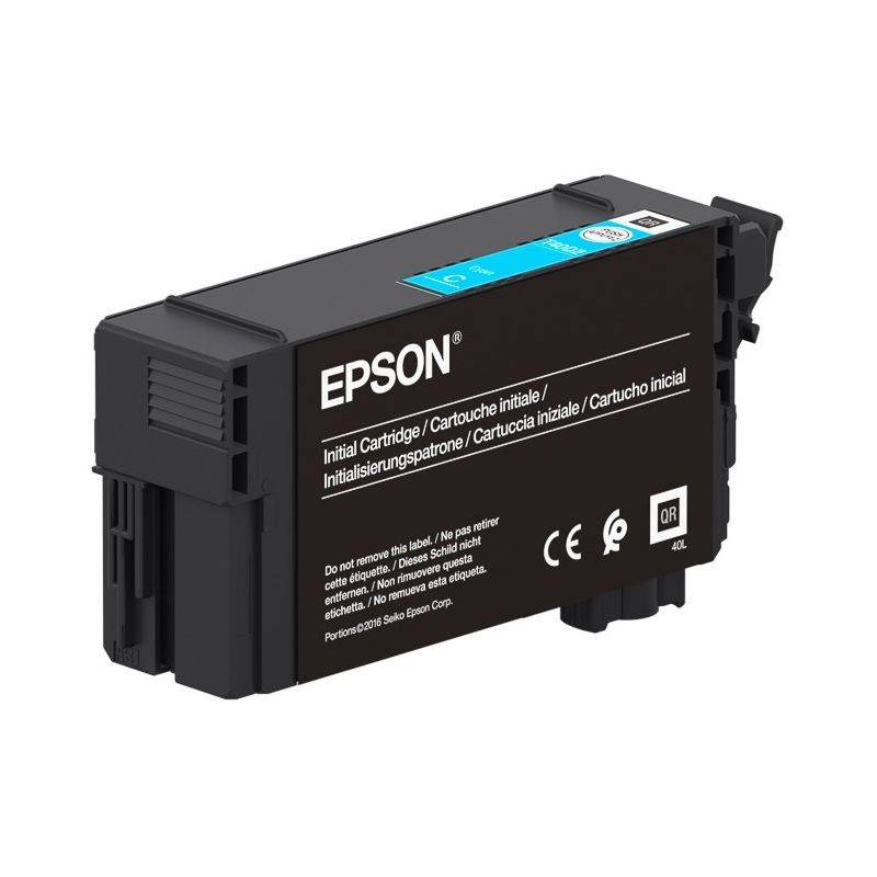 Epson Cartouche d'encre Cyan haute capacité UltraChrome XD2 Epson pour SC-T3100... (T40D240)