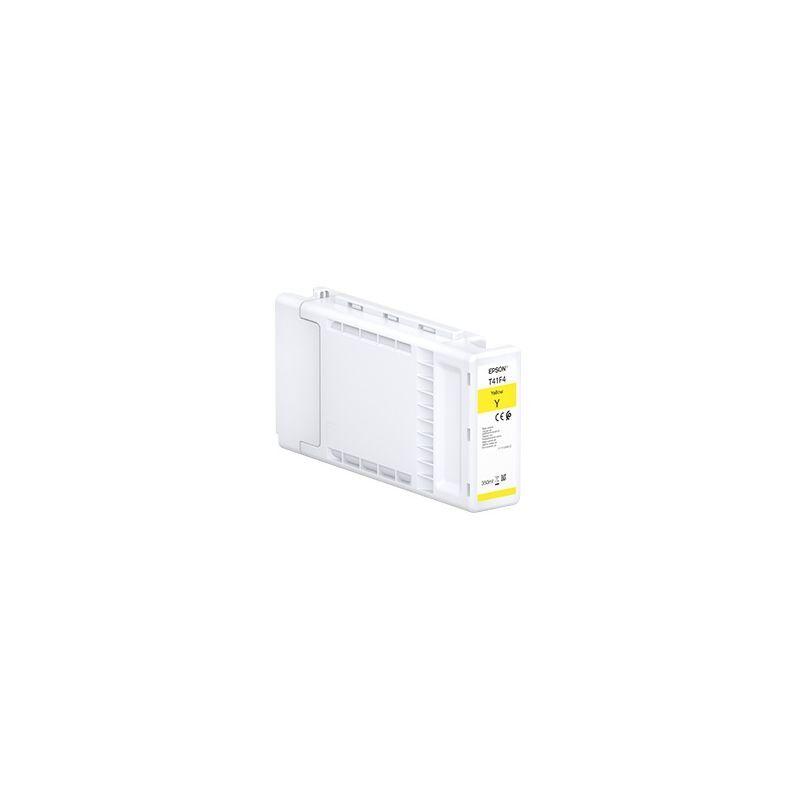 Epson Cartouche d'encre Jaune haute capacité UltraChrome XD2 Epson pour SureColor SC-T3400...(T41F4)