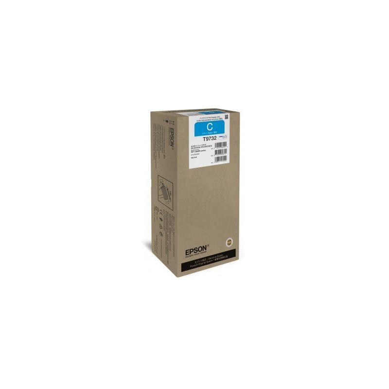 Epson Cartouche d'encre Cyan (XL) - Epson pour Workforce Pro WF-C869RDTW... (T9732)