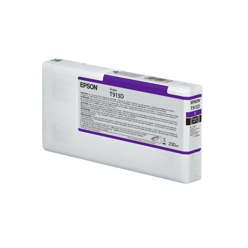 Epson Cartouche d'encre Violet Epson pour SC-P5000 (T913D)