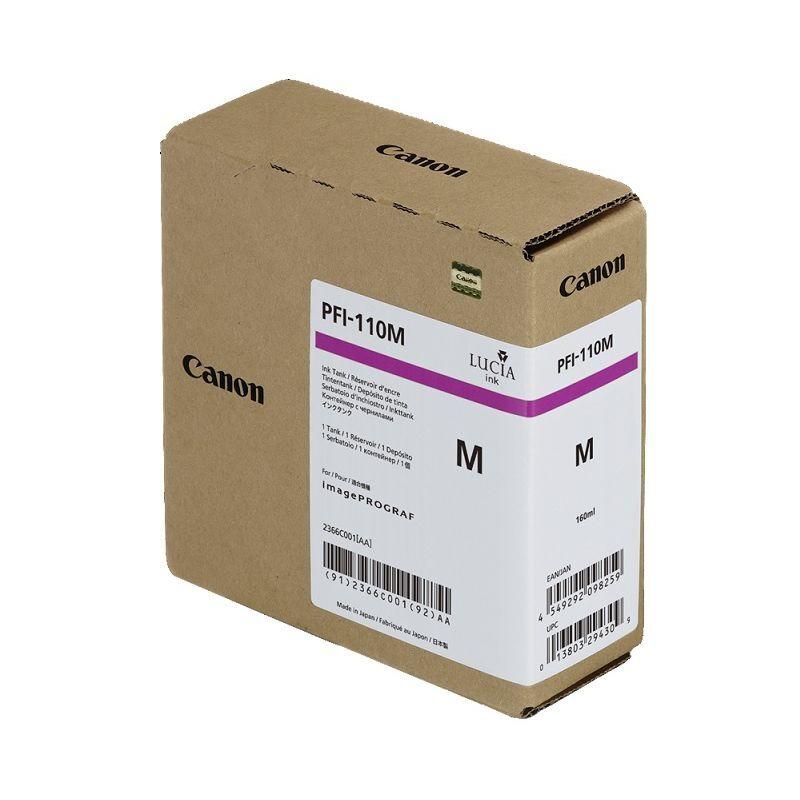 Canon Cartouche d'encre Magenta Canon pour Image Prograf TX2000, TX3000 ... (PFI110M)