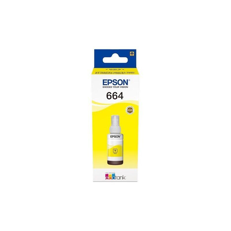 Epson Cartouche Encre Jaune EPSON pour EcoTank ET-14000/ ET-2500/ L100 ...(C13T664440)