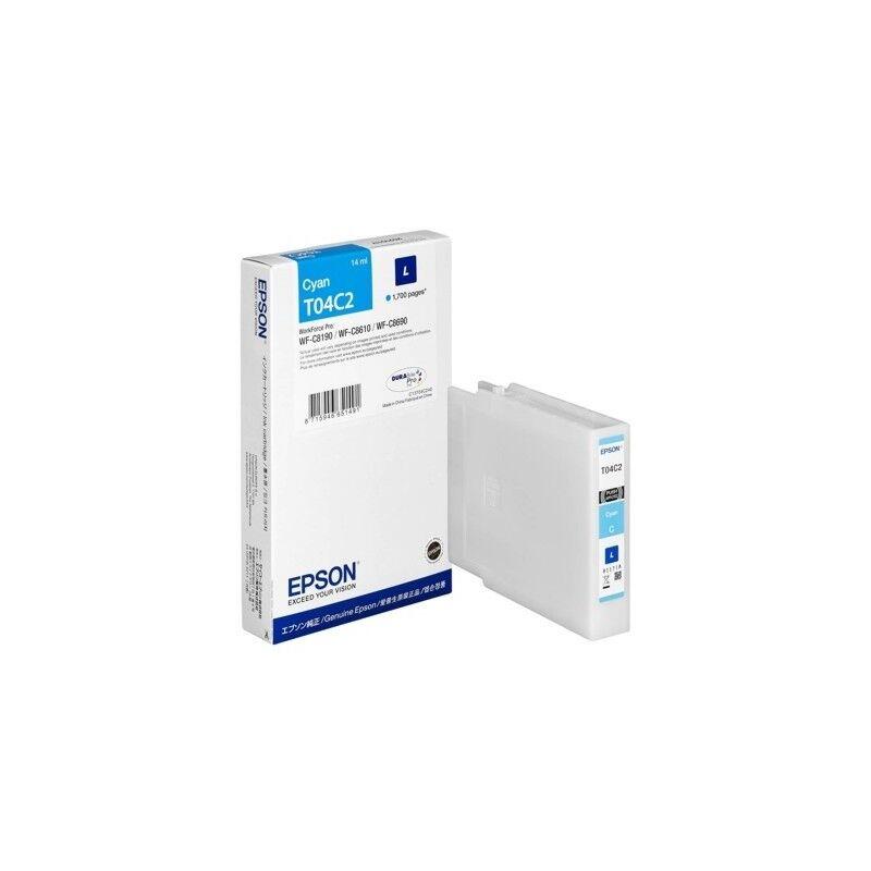 Epson Cartouche d'encre Cyan (L) - Epson pour Workforce Pro WF-C81xx / WF-C86xx