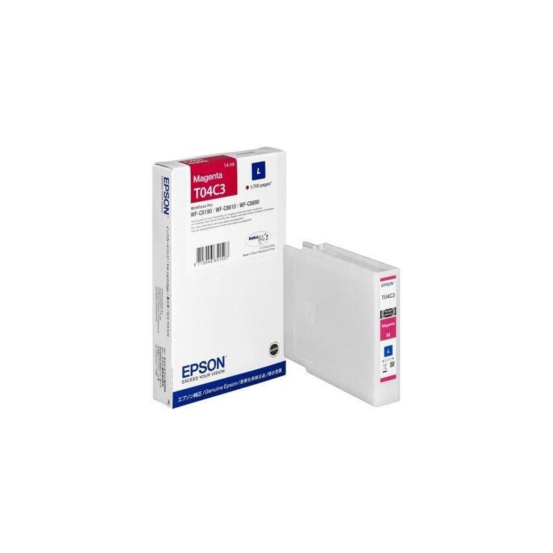 Epson Cartouche d'encre Magenta (L) - Epson pour Workforce Pro WF-C81xx / WF-C86xx