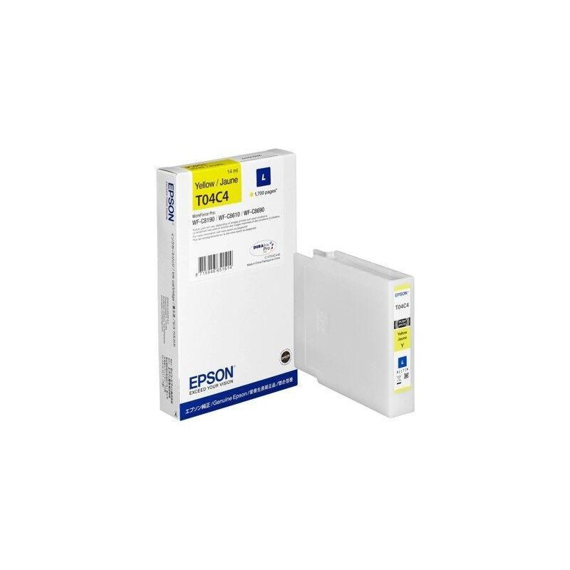 Epson Cartouche d'encre Jaune (L) - Epson pour Workforce Pro WF-C81xx / WF-C86xx